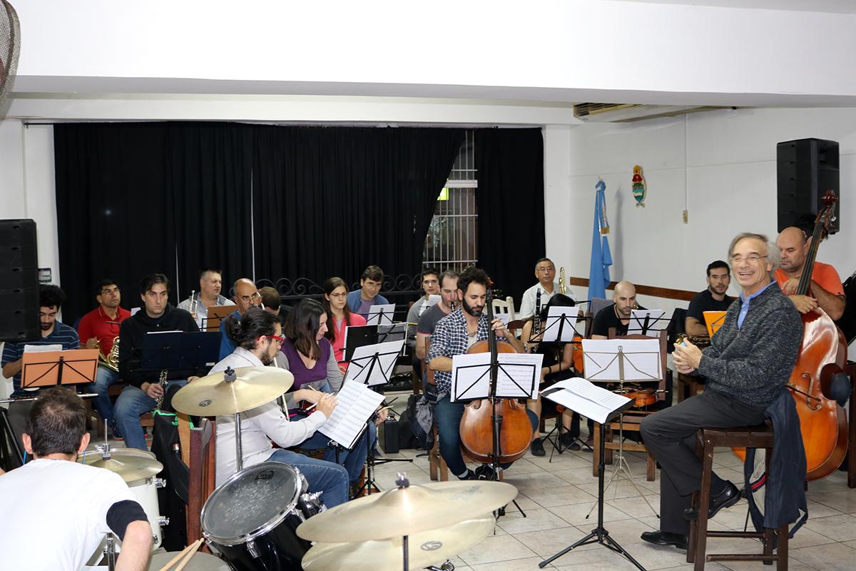 Evento Cultural El Ensamble De Vientos De Rosario Actuar En El  -> Sala De Ensayo Tv Rosario