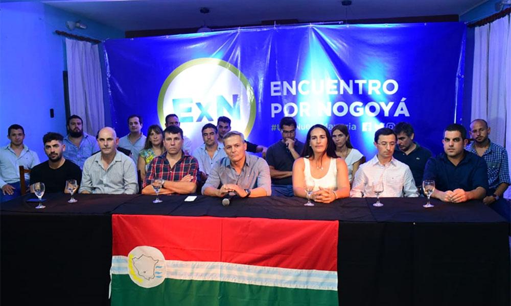 Adrián Perotti realiza esta noche la primera convocatoria de Encuentro por Nogoyá